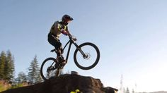 Raw on one of Washington's finest jump trails #MTB #extreme #sports