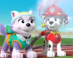 Paw Patrol Everest, Los Paw Patrol, Paw Patrol Pups, Paw Patrol Marshall, Paw Patrol Coloring Pages, Together Forever, Smurfs, Funny Animals, Nerd