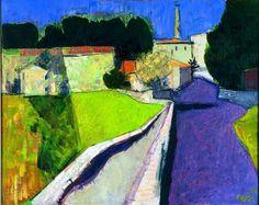 'Purple Street', 1984 - Wim Oepts