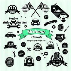 vintage-car-symbols_23-2147490415.jpg (337×338)