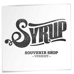 Syrup souvenir shop logo branding logos design, logo design inspiration и l Vintage Typography, Typography Logo, Graphic Design Typography, Logo Branding, Logo Vintage, Jean Michel Basquiat, Typography Inspiration, Logo Design Inspiration, Logan