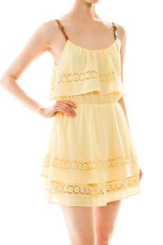 Be all sunny sunshine with this choice dress! Dress P, Wholesale Clothing, Sunnies, Must Haves, Sunshine, Chiffon, Summer Dresses, Clothes, Tops
