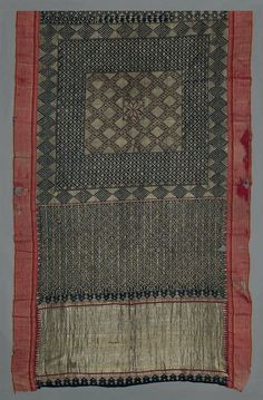 Sari India (Maharashtra), 18th-19th century The Museum of Fine Arts, Boston