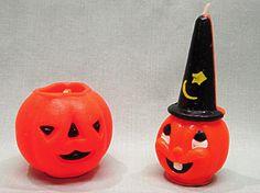 Vintage Gurley Halloween Candles Jack O Lantern JOL by COBAYLEY, $40.00