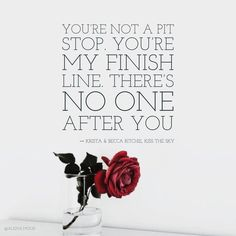 For this week I picked the book Kiss the Sky. It is number 2.1 in Addicted series. But it is at the same time book 1 in Calloway Sisters series. If you guys haven't read it yet - highly recommended! I personally enjoyed Rose's character the most (sorry Lilly's supporters!). So, here we go - all week of quotes from Rose and Connor! Thank you Krista & Becca Ritchie @kbmritchie for this read :) #romancenovel #addictedseries #callowaysisters #kristaritchie #beccaritchie #bookstagram #kissthesky