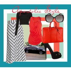 Chevron ♥, created by emmyholloway on Polyvore