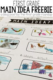 This FREE main idea group activity was the perfect launch for our discussion about main idea and details in readers' workshop. Read about this first grade activity and grab the FREEBIE here! First Grade Reading Comprehension, 1st Grade Writing, 2nd Grade Reading, Comprehension Activities, Reading Strategies, Reading Skills, Guided Reading, Reading Art, Reading Centers