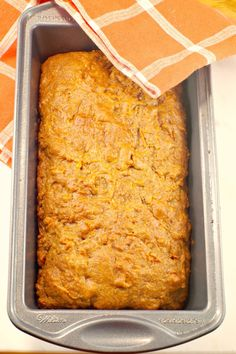 A healthy back to school snack for a parent win: Classic Carrot Bread from Food Meanderings Loaf Recipes, Real Food Recipes, Easy Recipes, Baking Recipes, Sweet Recipes, Healthy Recipes, Easy Desserts, Delicious Desserts, Yummy Food