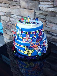 Inside Out birthday cake #tastefulcakescorona