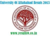 University Of Allahabad PGAT Entrance Results 2013