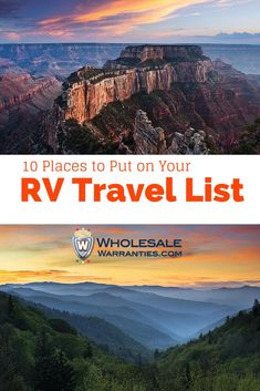 10 Places to Travel to in 2015 with Your RV... Please save this pin... ........................................................... Visit Now! OwnItLand.com