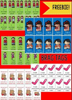 A First for Everything : Bragging about Brag Tags