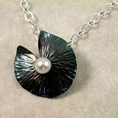 hammered silver. by barrondesignstudio on etsy.