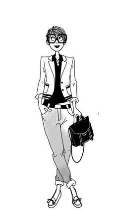 Preppy - Margaux Motin #Mode #Moda                                                                                                                                                                                 Plus