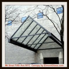 Fifth ave NYC Glass Canopy @elmontglass