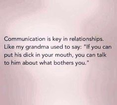 Communication!!