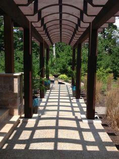 Cedar Pergola And Brick Walkway | Pergola Walkway | Pinterest | Brick  Walkway, Cedar Pergola And Walkways