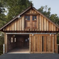 eclectic exterior by Barn Light Electric Company