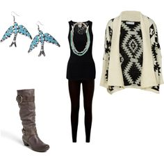 """""""Aztec Cardigan"""" by sheila-lopez on Polyvore"""