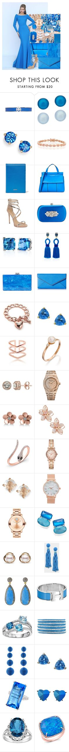 """""""Untitled #4590"""" by brooke-evans12 ❤ liked on Polyvore featuring Ruifier, Honora, Kate Spade, Bling Jewelry, DKNY, Sherri Hill, Tory Burch, Giuseppe Zanotti, Badgley Mischka and Effy Jewelry"""
