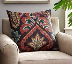 Houston Ikat Pillow Cover, 24 x 24
