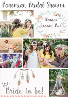 Backyard Bohemian Bridal Shower http://www.pinkslipinspiration.com/newsite/backyard-bohemian-bridal-shower/ Send the other bridesmaids here to coordinate a picture perfect bridal shower for your gal pal. Download printables, find recipes and inspiration in one place!