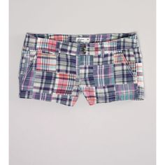 Ae Patchwork Shortie ($20) ❤ liked on Polyvore