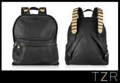 Sophie Hulme Embellished Leather Backpack | The Zoe Report
