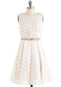 Flower Glass Dress, #ModCloth