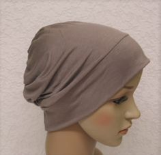Chemo hat, head wear for hair loss, bad hair day beanie, viscose jersey cap, chemo beanie by accessoriesbyrita on Etsy