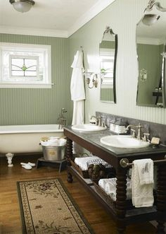 Cool country bathroom bathroom