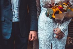 Woman in white lace dress and man in suit jacket holding hands – Fashion – Women fashion Videos Spring Outfits Sites Fall Wedding Flowers, Autumn Wedding, Scottish Wedding Traditions, Dream Of Getting Married, Fashion Videos, Woman Standing, Jacket Style, Suit Jacket, Mens Suits
