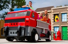 """Rescue Academy at LEGOLAND Florida is where families compete with each other in fire and police vehicles to be the first to put out a simulated """"blaze"""" and save the day!"""
