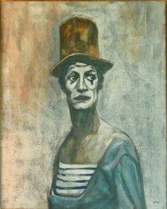 """Résultat de recherche d'images pour """"mime marceau"""" Mime Marceau, Images, Painting, Art, Search, Craft Art, Painting Art, Kunst, Paint"""