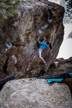 rockpilgrim: Alex Puccio Here is a shot of me from @joelzerr on my send go of Low Left Veritas V12/ 8A+