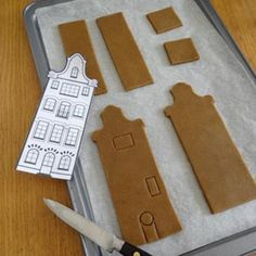 Ideas   How to Bake a Village of Gingerbread Houses Ikea Gingerbread House, Gingerbread House Template, Christmas Mugs, Christmas 2019, Christmas Cookies, Different Types Of Houses, Bread Man, Build Your House, Piping Tips