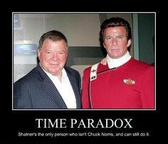 What Happened to Kirk's Nose - Demotivational Posters to Demotivate You - Work Harder, Not Smarter. Star Trek Original Series, Demotivational Posters, William Shatner, Chuck Norris, All Star, Sci Fi, Entertaining, Shit Happens, Stars