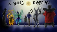 5 Years Together ROTG!