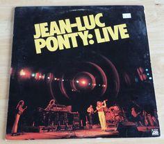 Jean-Luc Ponty - Live - SD 19229 - 1979 - Monarch Pressing - 115 grams - VG