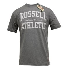 The Arch: C-Neck Tee – Grey Marl