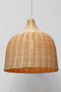 This wicker ceiling light shade made from natural rattan is an ideal pendant for over a kitchen island bench or a coastal inspired interior. Coastal Decor, Ceiling Pendant Lights, Pendant Light Cord, Large Pendant Lighting, Rattan, Coastal Interiors, Rattan Pendant Light, Ceiling Lights, Wicker Lamp Shade