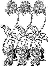 chrysanthemum botanical drawing - Google Search