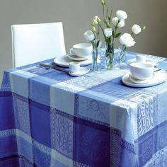 Garnier Thiebaut Tischwäsche  Mille Wax Ocean