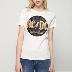 041fc582c52 Women s Rock or Bust ACDC T-Shirt