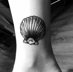 My seashell tattoo by Armelle Stb