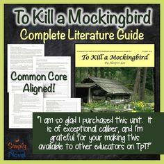 to kill a mockingbird teacher guide
