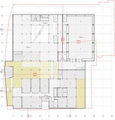 Conoce el futuro centro cívico universitario diseñado por Konrad Brunner y Cristián Undurraga en Bogotá,Planta Nivel -2