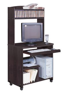 Organize your life with a small computer desk. This is on sale at naderslp.com for $58 and perfect to DIYprojects or tight spaces.