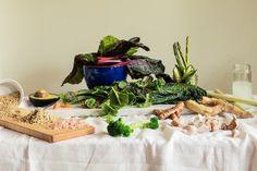 Este fotógrafo retrató los alimentos que componen la dieta diaria de 6 celebridades