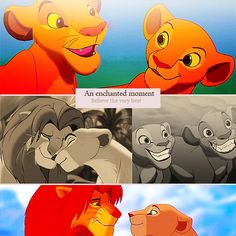 An enchanted moment ~ believe the very best (the lion king)